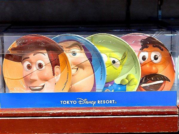 Conjunto de pratos Toy Story