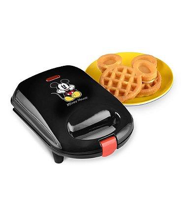 Maquina de waffle do Mickey