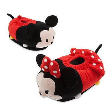 Pantufa Mickey e Minnie Tsum Tsum Disney Store