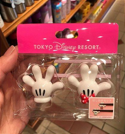 Descanso de Hashi Maozinha Mickey e Minnie