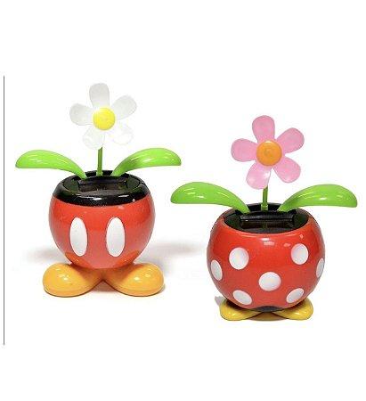Vaso de flor dançante Mickey ou Minnie