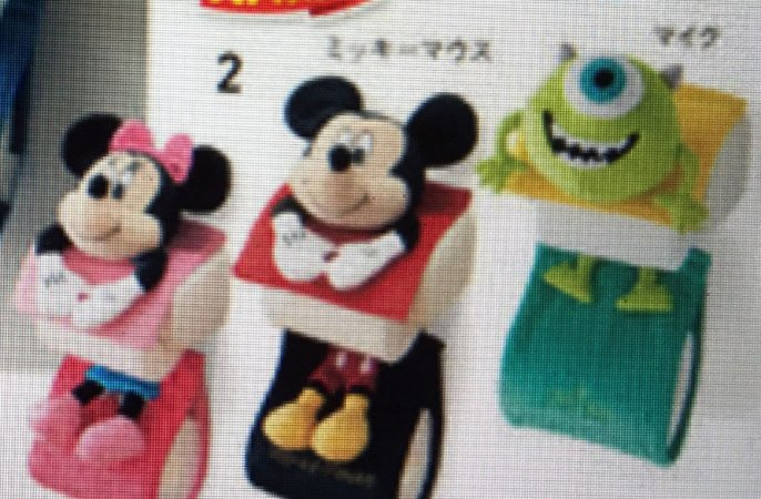 Porta papel Higiênico Mickey Minnie Pato Donald Margarida Alien Mike