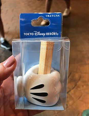 Paliteiro mão do Mickey