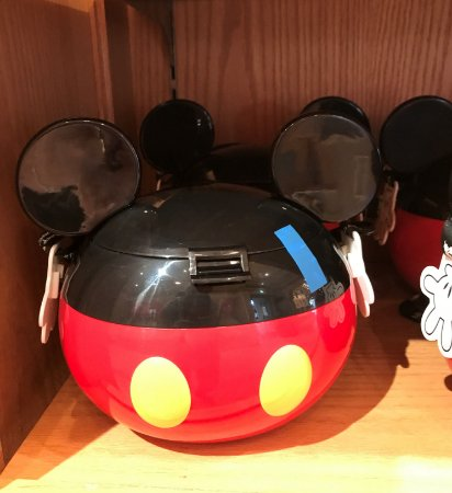 Balde de Pipoca Mickey, Minnie, Sr Cabeça de Batata, Et/Alien, Dumbo, Nemo, Duffy ou Ariel