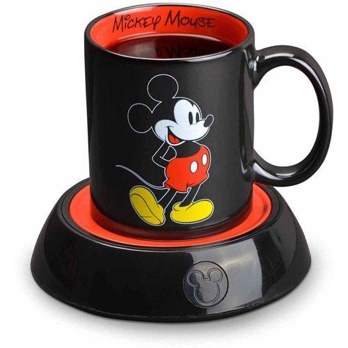 Caneca do Mickey com aquecedor