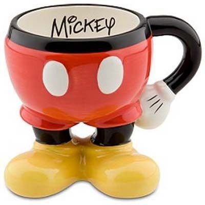 Caneca Mickey Bundinha Disney Parks