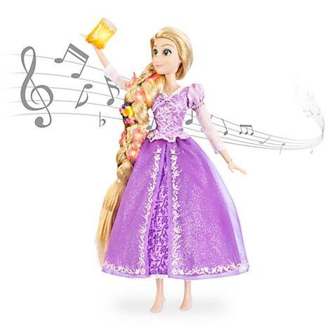 Boneca Rapunzel que Canta Disney Store 40 cm