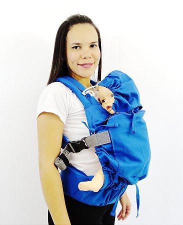 Daju Chila Ajustável - Mochila Evolutiva - Azul