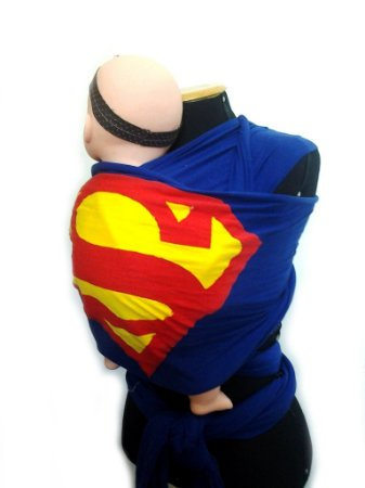 Wrap Sling - Personalizado do  Super Homem (Cotton)
