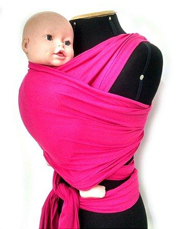Wrap Sling em Cotton  - Pink
