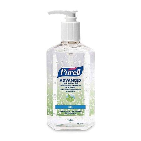 Purell Advanced Gel Alcoólico Antisséptico para Mãos Pump 354mL