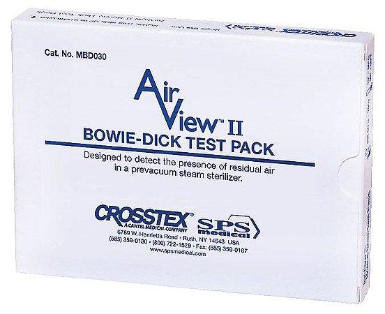 Pacote Bowie & Dick AirView II Descartável com Indicador Químico