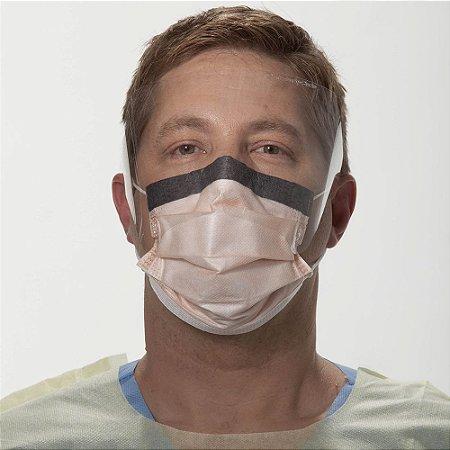 Máscara Cirúrgica com Visor e Elástico Fluidshield Halyard