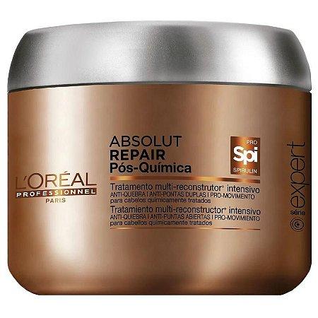 L'Oréal Professionnel Absolut Repair Pós-Química Tratamento Multi-reconstrutor Intensivo - Máscara de Tratamento 200g
