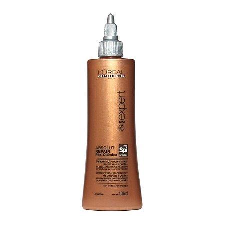 L'Oréal Professionnel Absolut Repair Pós-Química Selador Multi-reconstrutor de Cutículas e Pontas Duplas - Tratamento 150ml