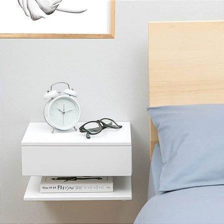 Mesa de Cabeceira Suspenso Para Livros - 40x30x30 - 100% MDF 18mm