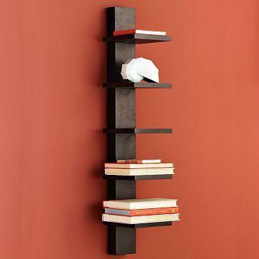 Prateleira Vertical para Livros
