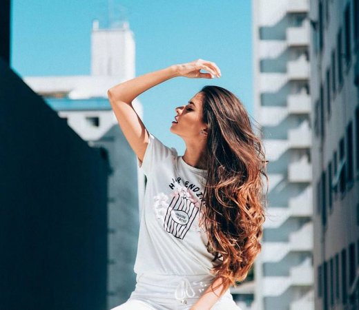 T-shirt  Popcorn Branca - Happy Ending | PomPom – Petit