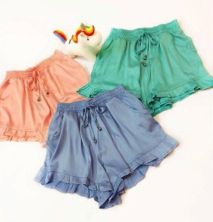 Shorts Babado | Candy