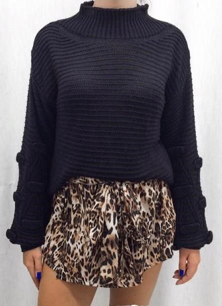 Shorts Saia Leopard | Animal Print
