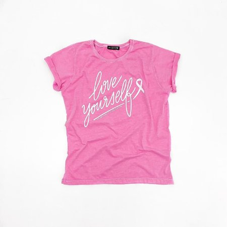 T-shirt Love Yourself | Cor: Rosa - In Love
