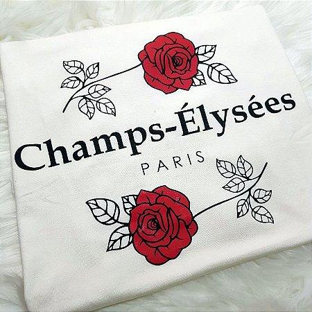 T-shirt Champs - Élysèes Paris | Off White - Petit Rosè