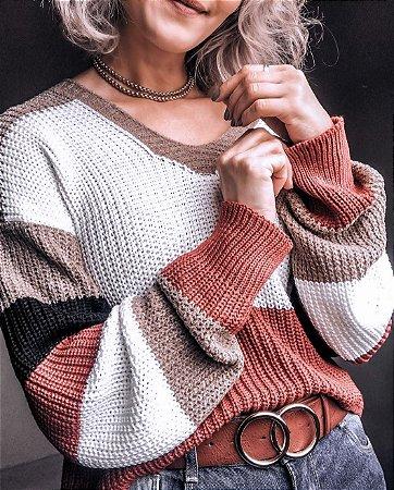 Blusa de Tricot Carmel