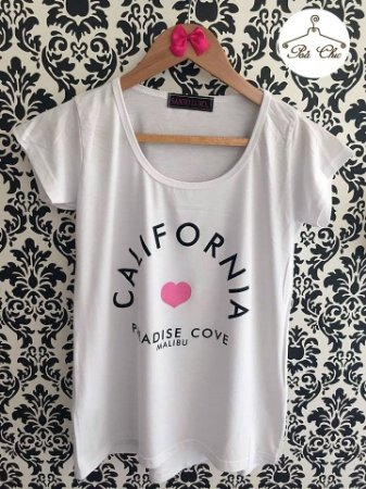 T-shirt Califórnia || Branca