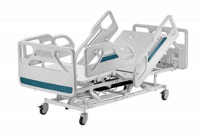 Cama Hospitalar Motorizada 3 Movimentos Completa Extra Luxo Modelo 1903 + Colchão D33