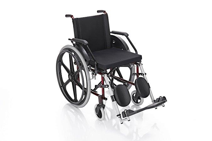 Cadeira de rodas Flex com elevação de pernas - Suporta até 100kg - Pneu Inflável - Prolife