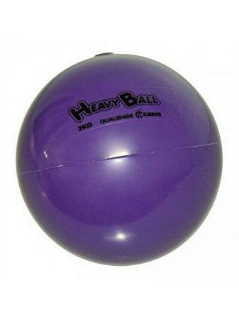 Heavy Ball - Para Exercícios Físicos De Resistência Com Peso