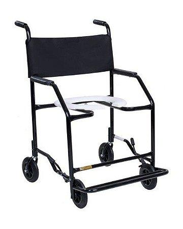 Cadeira de Banho Higiênica Semi Obeso - Até 100Kg - Aluguel