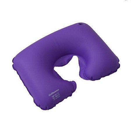 Almofada Cervical Descanso de Pescoço Inflável