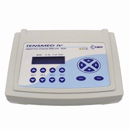 TENS Fisioterapia 4 Canais - TENSMED IV