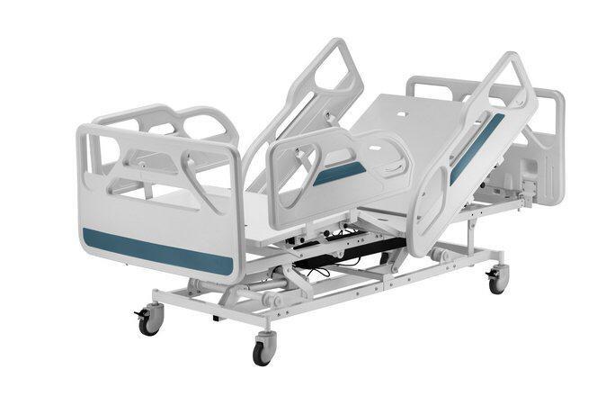 Cama Hospitalar Motorizada 3 Movimentos com Elevação do Leito Evidence Extra Luxo
