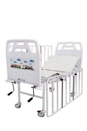 Cama Hospitalar Infantil Manual 2 Movimentos
