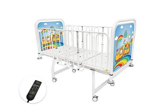 Cama hospitalar Infantil Motorizada 2 Movimentos