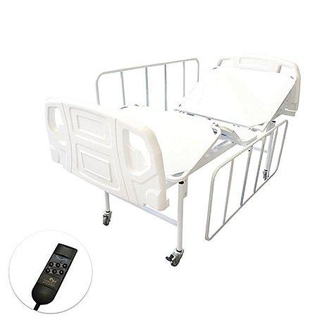 Cama Hospitalar Motorizada 2 Movimentos Semi Luxo