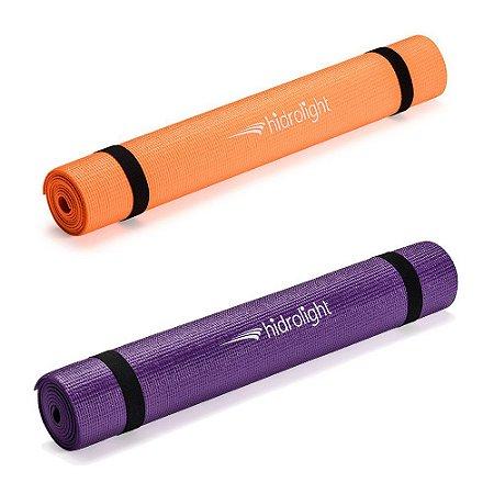 Tapete de Exercícios em PVC para Yoga Pilates