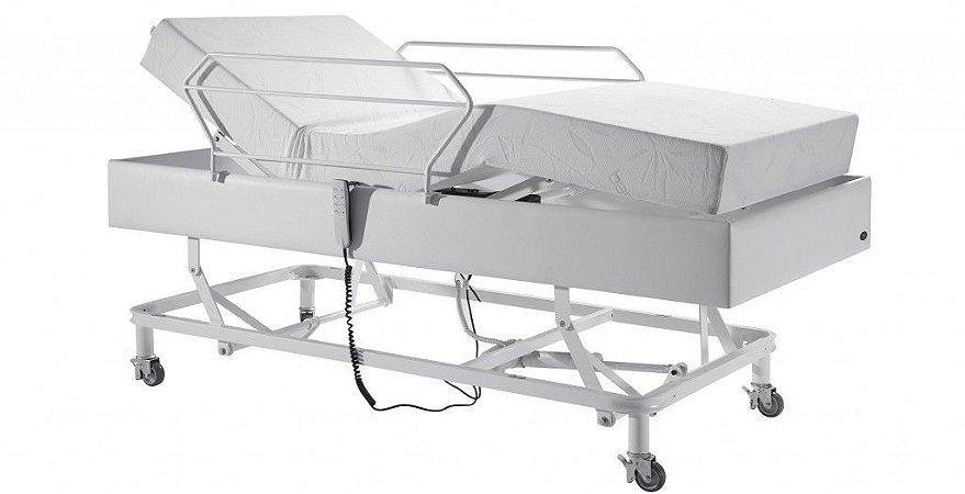 Cama Hospitalar Motorizada 3 Movimentos Pilati Confort + Colchão Articulado D33