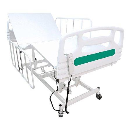 Cama Hospitalar Motorizada 3 Movimentos Semi Luxo 1033