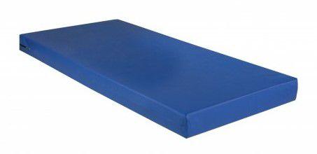 Colchão D28 Capa Azul Impermeável para Camas Hospitalares com Extensor