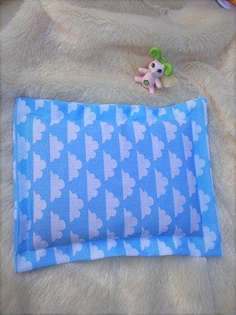 Bolsa Térmica de Sementes Bebê Nuvenzinha Azul