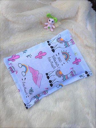 Bolsa Térmica de Sementes Bebê Alpaca Rosa