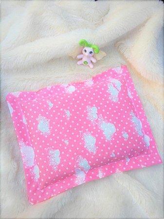 Bolsa Térmica de Sementes Bebê Nuvenzinha Rosa