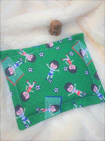 Bolsa Térmica de Sementes Bebê Partida de Futebol
