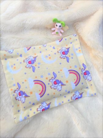 Bolsa Térmica de Sementes Bebê Unicórnio Divertido