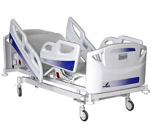 Cama Hospitalar Motorizada 5 Movimentos com Controle de Teclado Digital