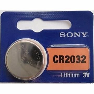 1 Bateria CR2032 Sony 3 Volts para o controle Bluetooth