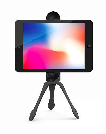 GEKKOPAD - Suporte para Tablet, celular e Câmeras - PRETO